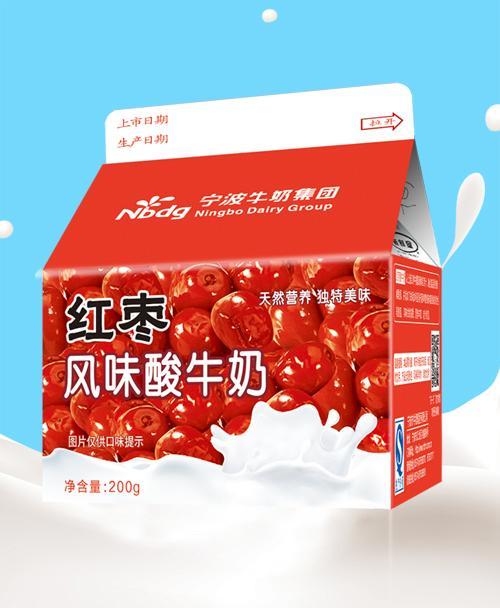 200g 红枣风味酸牛奶