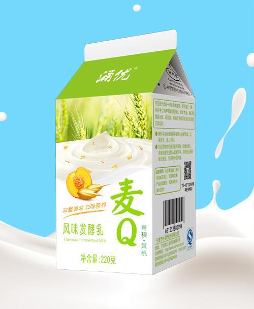 220g 麦Q(青稞&黄桃)酸牛奶
