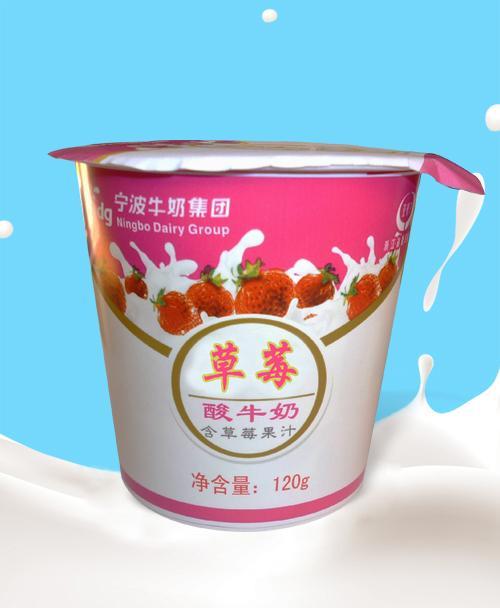 120g 草莓酸牛奶